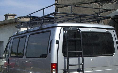 Багажник на крышу на соболь